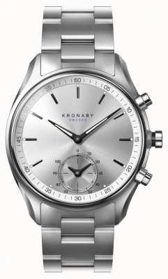 Kronaby Smartwatch con cinturino in acciaio inossidabile bluetooth 43mm sekel A1000-0715