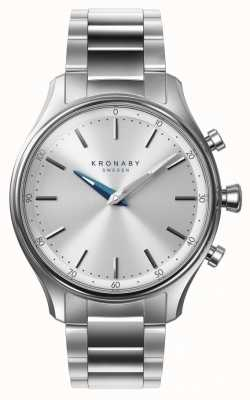 Kronaby Bracciale in acciaio inossidabile bluetooth sekel 38mm a1000-0556 S0556/1