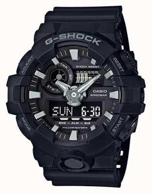 Casio Cronografo da uomo con allarme g-shock nero GA-700-1BER