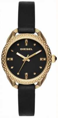 Diesel Ladies shawty orologio nero e oro DZ5547