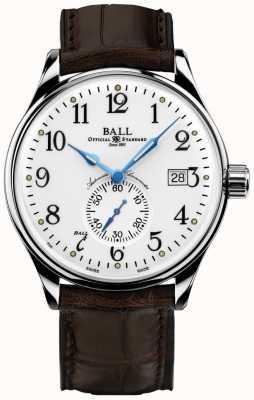 Ball Watch Company Cronometro del tempo standard del treno degli uomini NM3888D-LL1CJ-WH
