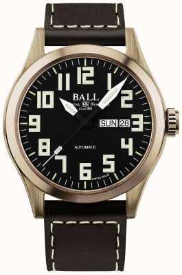 Ball Watch Company Cassa per ingegnere maschile in bronzo NM2186C-L3J-BK