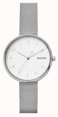 Skagen Braccialetto d'argento in acciaio inossidabile di firma di Womans SKW2623