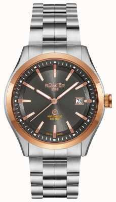 Roamer Automatico rd100 | bracciale in acciaio inossidabile | quadrante nero 951660-49-05-90