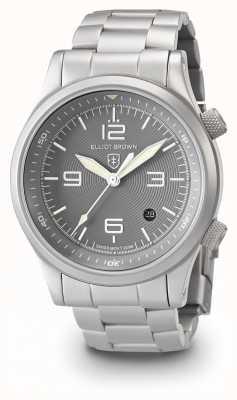 Elliot Brown Bracciale in argento e bracciale in acciaio inox 202-018-B06