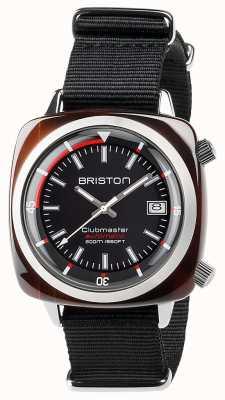 Briston unisex clubmaster diver tartarugato acetato auto nero 17642.SA.TD.1.NB