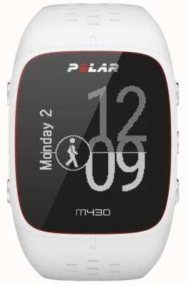 Polar Orologio sportivo in gomma bianca M430 90064407