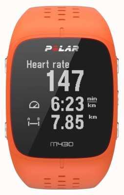 Polar Orologio sportivo in gomma arancione M430 90064410