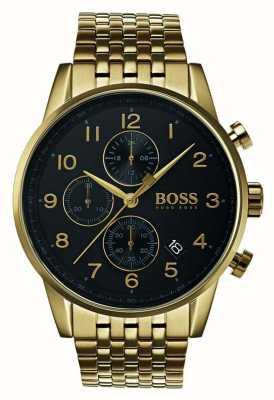 Hugo Boss Orologio classico da uomo con quadrante nero 1513531