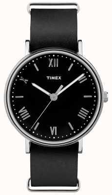 Timex Cinturino nero quadrante nero da 41mm a sudovest TW2R28600