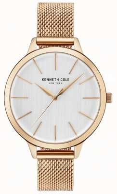 Kenneth Cole Braccialetto bianco womans diamante in oro rosa KC15056014