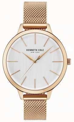 Kenneth Cole Braccialetto bianco womans diamante in oro rosa KC15056014
