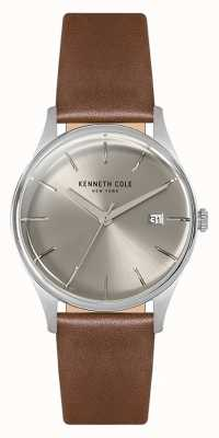 Kenneth Cole Argento in acciaio inox Womans 35 mm KC15109005