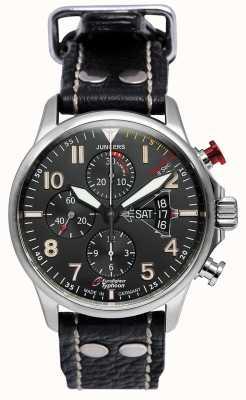 Junkers Mens junkers 3 cronografo eurofighter nero automatico 6826-5