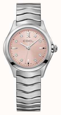 EBEL Orologio in acciaio inossidabile quadrante delle donne Wave 1216217