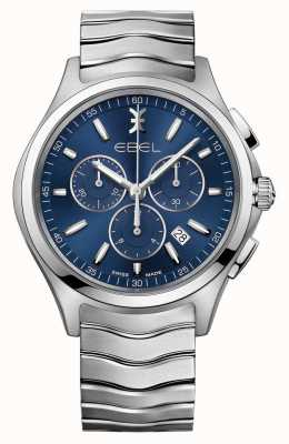 EBEL Orologio cronografo orologio blu cronografo 1216344