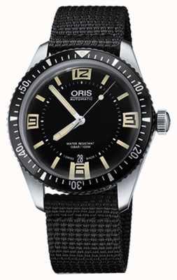 Oris Divers sessantacinque quadranti in automatico cinturino in tessuto 01 733 7707 4064-07 5 20 24
