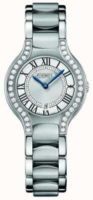 EBEL Womens beluga set di diamanti in acciaio inossidabile 1216069
