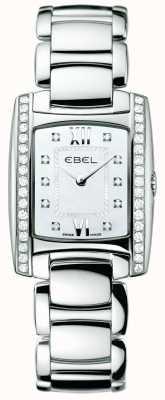 EBEL Acciaio inossidabile del diamante della donna brasilia 1215607