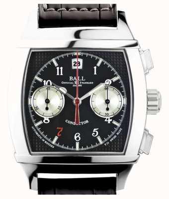 Ball Watch Company Cronografo nero quadrante Vanderbilt conduttore limitato edizione CM2068D-LJ-BK
