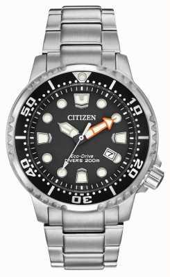 Citizen Gli uomini in eco-drive propaster divers in acciaio inossidabile BN0150-61E
