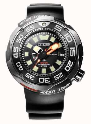 Citizen Promaster marine 1000m eco-drive subacquei cinghia in gomma BN7020-17E