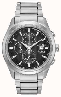 Citizen Cronografo da uomo in titanio eco-drive CA0650-58E