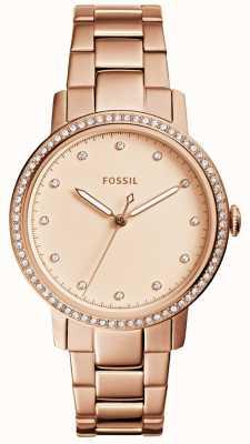 Fossil Orologio in oro rosa delle donne ES4288