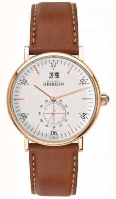Michel Herbelin Orologio di cronografo ispirazione uomo 18247/PR11GO