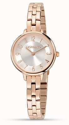 Morellato Womens petra piccolo orologio in oro rosa R0153140510
