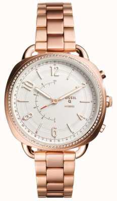 Fossil Q complice hybrid smartwatch tono oro rosa FTW1208