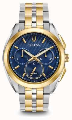 Bulova Il braccialetto del metallo del braccialetto del braccialetto del cronografo del braccialetto delle donne 98A159