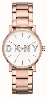 DKNY Braccialetto di tono oro rosa di Womans soho NY2654