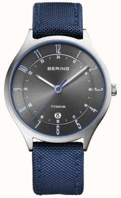 Bering Azzurro in titanio ultra leggero in nylon blu 11739-873