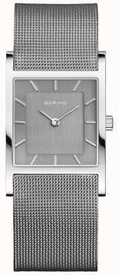 Bering Cinturino milanese in argento quadrato classico Womans 10426-309-S