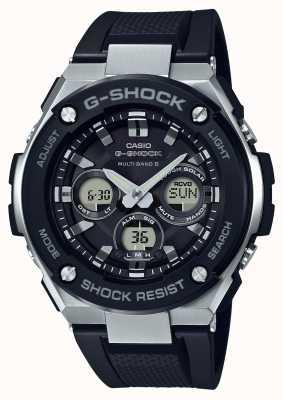 Casio g-shock g alluminio acustico medio chrono nero GST-W300-1AER