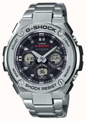 Casio Mens g-shock g-acciaio in alluminio cronometro in acciaio inox medio GST-W310D-1AER