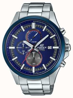 Casio Orologio da uomo con cronografo blu da corsa EFV-520RR-2AVUEF