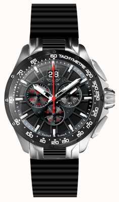 Aviator Cinturino in gomma nero cronografo mig-35 M.2.19.5.134.6