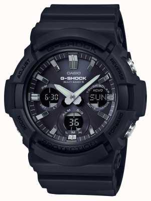 Casio Cronografo sveglia Waveceptor grigio / nero GAW-100B-1AER