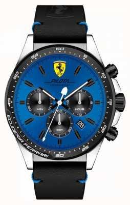 Scuderia Ferrari Orologio da uomo cronografo blu cronografo da uomo 0830388