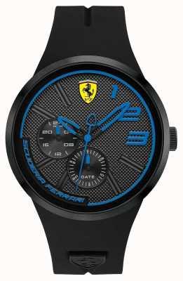 Scuderia Ferrari Silicone nero da uomo 0830395