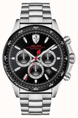 Scuderia Ferrari Acciaio inossidabile Pilota 0830393