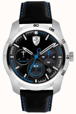 Scuderia Ferrari Quadrante nero e blu Primato 0830445