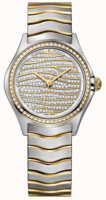 EBEL Orologio d'oro 18-oro 18-oro delle donne Wave 1216285