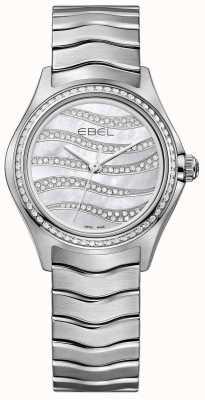 EBEL Vigilanza in acciaio inossidabile a orologi da donna 94 1216270