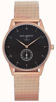 Paul Hewitt Maglia in oro rosa firma unisex PH-M1-R-B-4M
