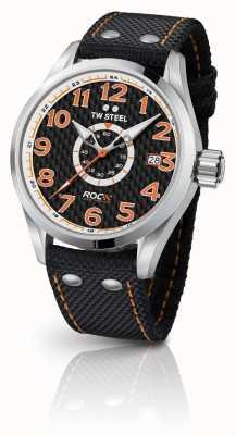 TW Steel Mens edizione speciale volante corsa di campioni arancio nero TW965