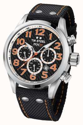 TW Steel Mens edizione speciale volante corsa di campioni cronografici neri TW966