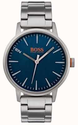 Hugo Boss Orange Quadrante blu della vigilanza degli uomini di copenhagen 1550058